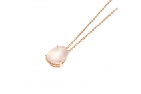 Aurora Rose Quartz Necklace
