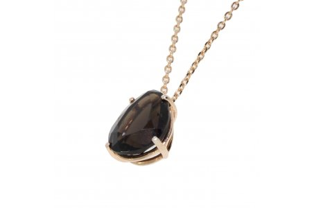 Aurora Smoky Quartz Necklace