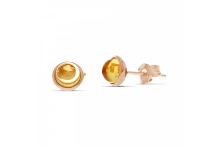 Carry Me Citrine Studs