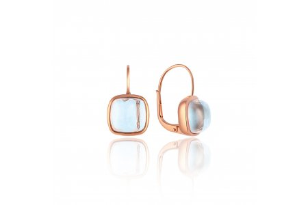 Carry Me Blue Topaz Earrings