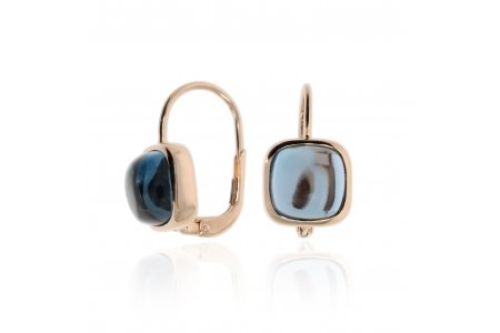 Carry Me London Blue Topaz Earrings
