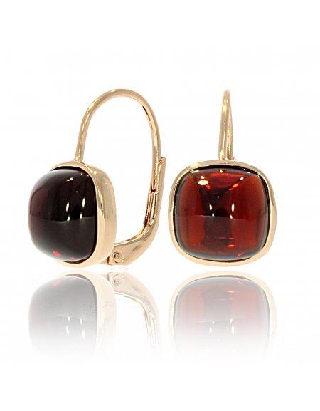 Carry Me Garnet Earrings