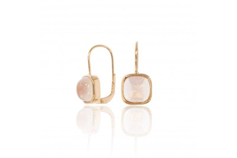 Carry Me Rose Quartz Earrings