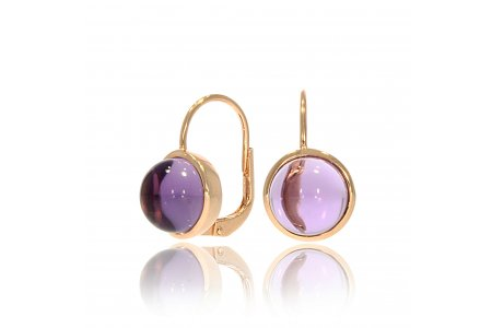 Carry Me Amethyst Earrings