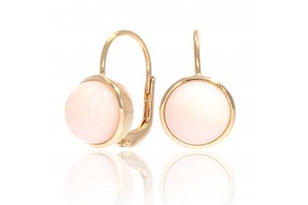 Carry Me Pink Opal Earrings