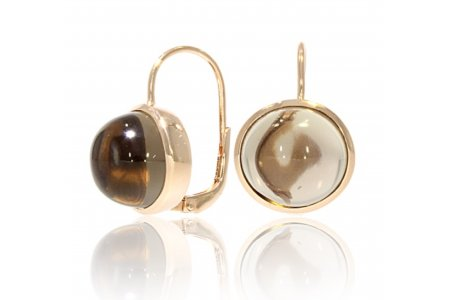 Carry Me Smoky Quartz Earrings