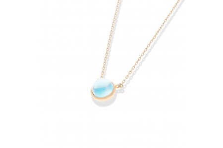 Carry Me Blue Topaz Necklace