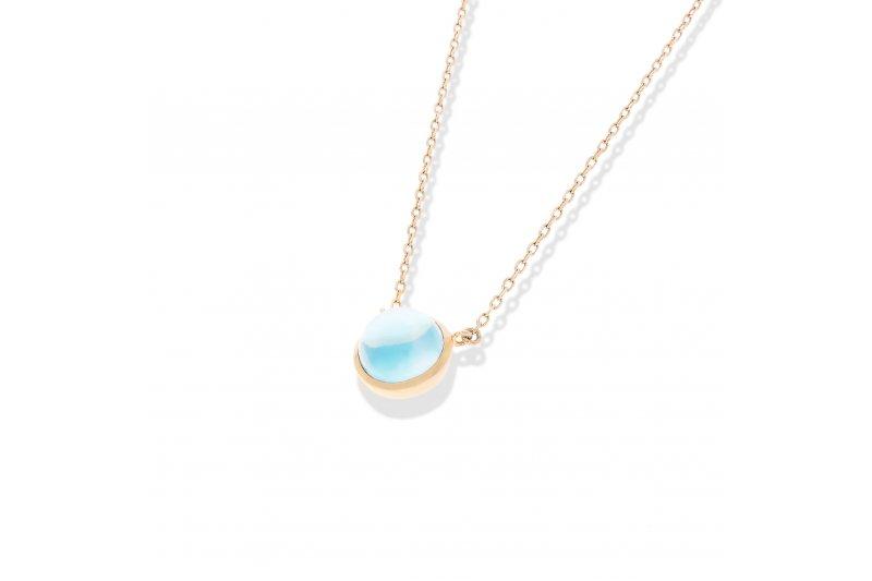 Carry Me Blue Topaz Necklace