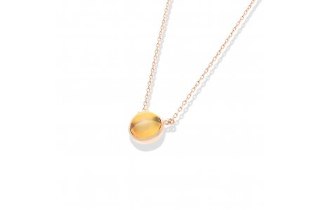 Carry Me Citrine Necklace