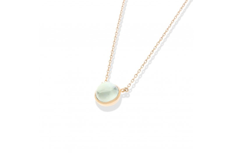 Carry Me Green Amethyst Necklace