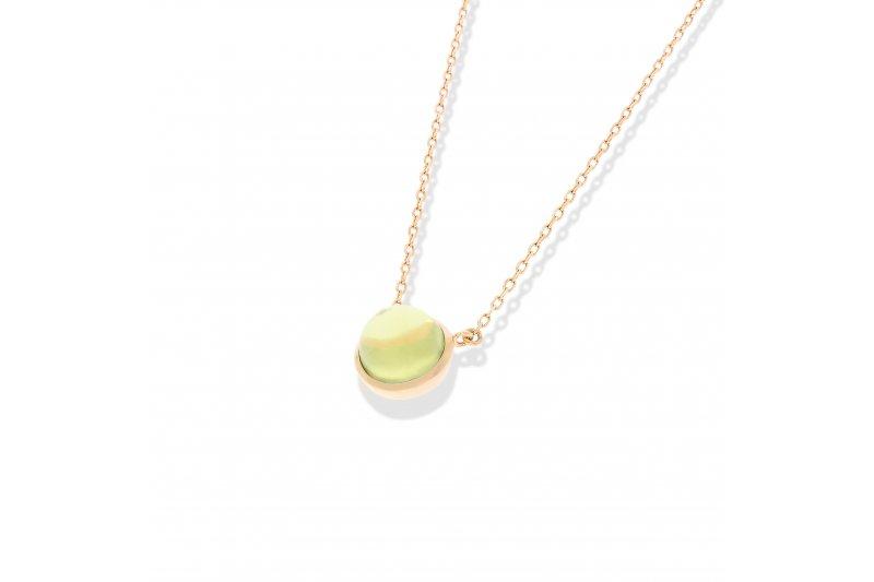 Carry Me Lemon Quartz Necklace