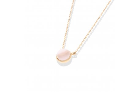 Carry Me Rose Quartz Necklace