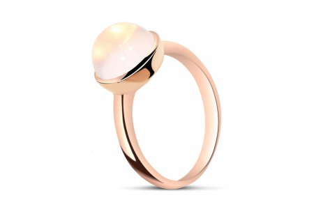 Carry Me Rose Quartz Ring