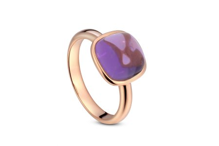 Carry Me Ring In Amethyst
