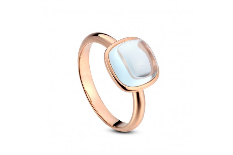 Carry Me Blue Topaz Ring