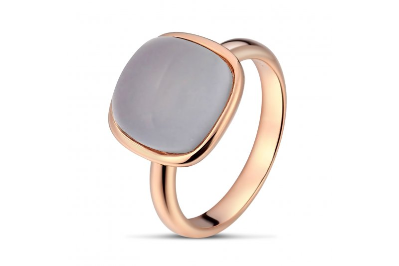 Carry Me Blue Chalcedony Ring
