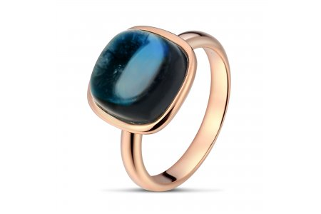 Carry Me London Blue Topaz Ring