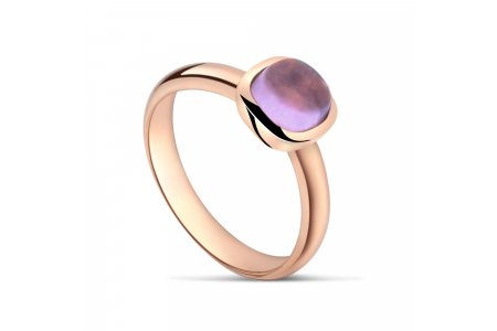 Carry Me Amethyst Ring