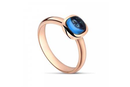 Carry Me London Blue Topaz Ring