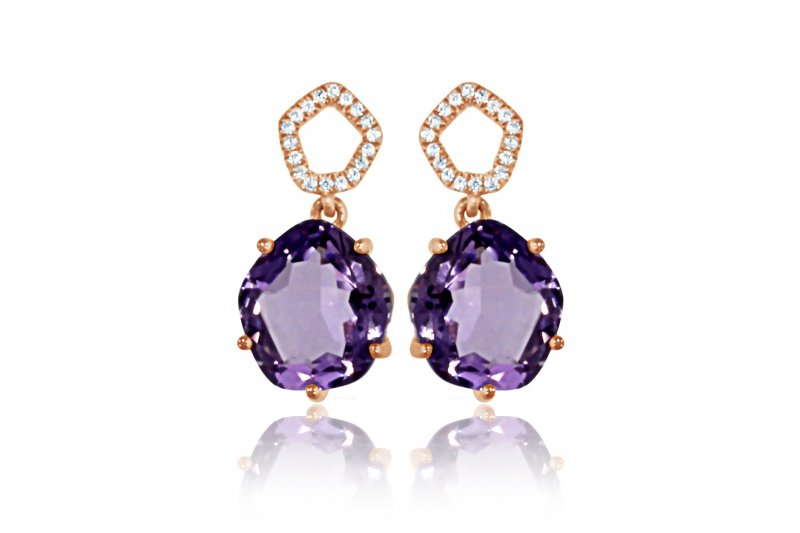 Enchant Amethyst Earrings
