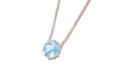 Enchant Blue Topaz Necklace