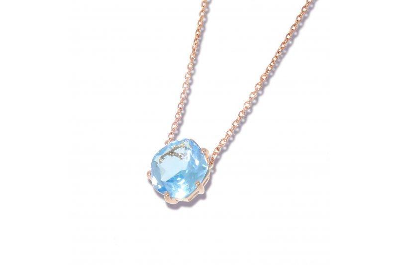 Enchant Blue Topaz Necklace