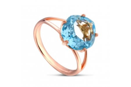 Enchant Blue Topaz Ring