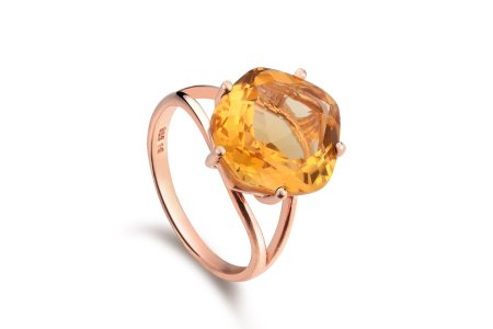 Enchant Citrine Ring