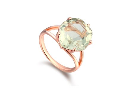 Enchant Green Amethyst Ring