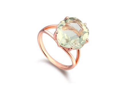 Enchant Green Amethyst Ring