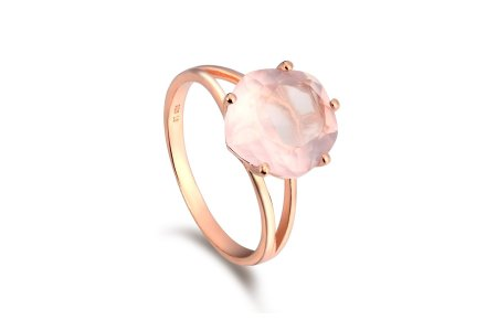 Enchant Rose Quartz Ring