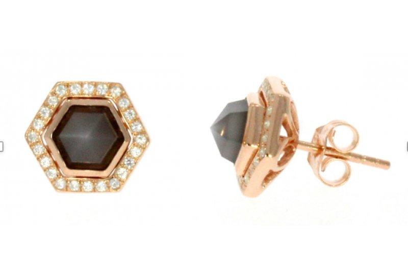 Harmony Gray Moonstone  Earrings