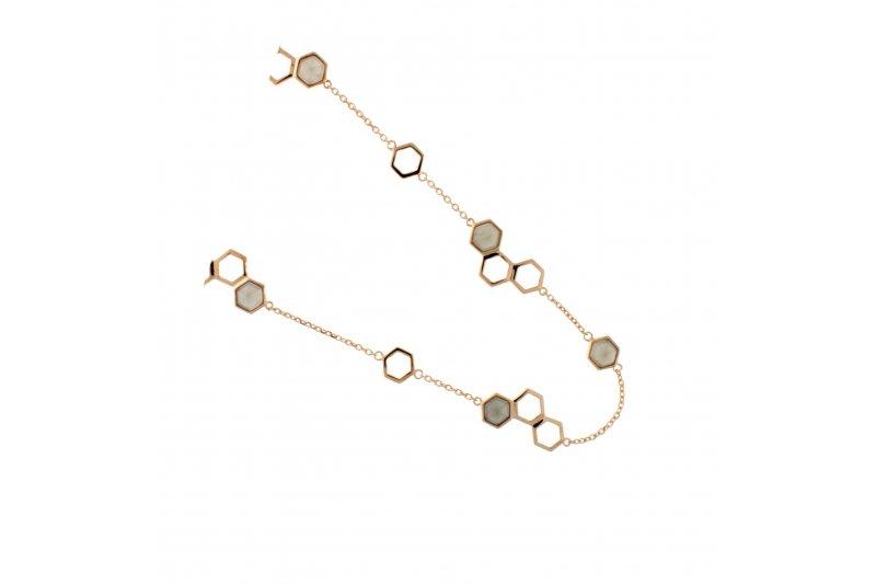 Harmony Gray Moonstone Necklace